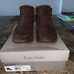 Franco Sarto fall booties
